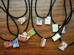 Maker Mondays: DIY Mini Book Charms