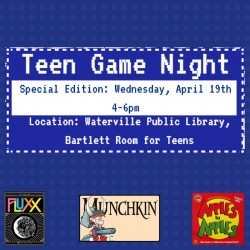 Teen Game Night: Special Edition