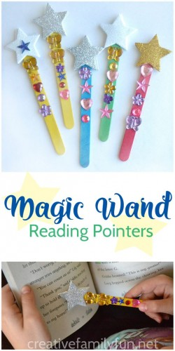Crafternoons - Make a Magic Wand Reading Pointer!