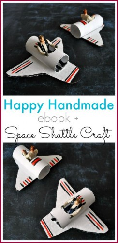 Crafternoons - Make a Space Shuttle!