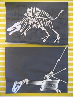 Crafternoons - Create Your Own Dinosaur Skeleton!