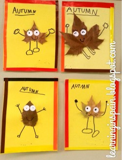 Crafternoons - Make Leaf People!