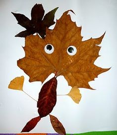 Crafternoons - Leaf People!