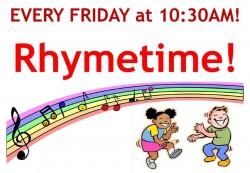Facebook Live Rhymetime!